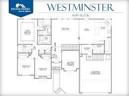 westminster floor plan rambler home design nilson homes