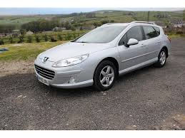 peugeot 407 price peugeot 407 2 0 sw sr hdi 5dr manual for sale in rossendale