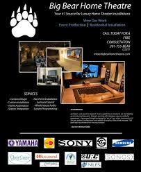 Home Theater Design Nj by Big Bear Home Theatre Nj New Jersey Home Theatre Theater