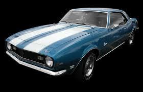 chevy camaro through the years 1967 1968 camaro history