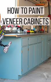 how to paint kitchen cabinets veneer how to paint veneer cabinets for a lasting finish
