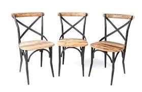 chaises en fer forgé chaise en fer forge et bois madeinglobal co