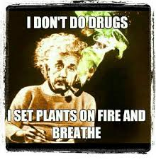 Don T Do Drugs Meme - don t do drugs set plants on fire and breathe drugs meme on sizzle