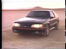 ford mustang ad 1986 ford mustang tv ad commercial 1 of 2