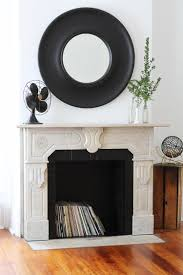 how to paint a brick fireplace apartment therapy