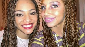 Light Brown Box Braids Black And Light Brown Box Braids Pictures To Pin On Pinterest