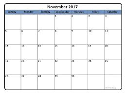 printable calendar page november 2017 november 2017 calendar 51 calendar templates of 2017 calendars