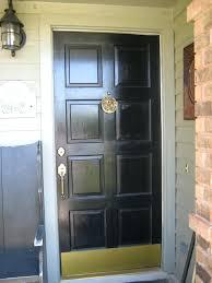 front doors trendy paint front door black for home inspirations