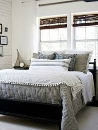 Home Interiors Bedroom by Coastal Inspired Bedroom Twin Beds Ticking Stripe Bedding