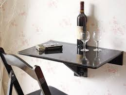 table rabattable pour cuisine table murale rabattable cuisine sobuy fwt01w table murale