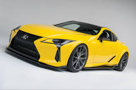 lexus lc technology first customized lexus lc 500 makes grand entrance at sema
