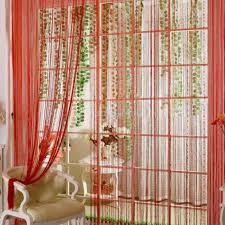 Pink Hanging Door Beads by Beads Curtain Ikea Decorate The House With Beautiful Curtains