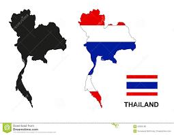 thailand vector map thailand map vector thailand flag vector isolated thailand stock