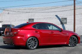 lexus isf used cars sale 2011 lexus is f only 18k miles 416hp 50 v8 city california mdk