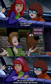 daphne velma freak out over shaggy and scooby not packing the
