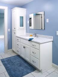 Bath Vanity Cabinets Tall Bathroom Vanity Cabinets At Exclusive Bathroom Design Ideas