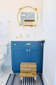 Step Stool For Kids Bathroom - blue kids washstand with serena and lily montara mirror cottage