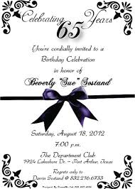 65th birthday invitations 65th birthday invitations by created