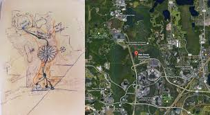 Google Maps Orlando Fl by Florida Guide Maps To Walt Disney World At Google Roundtripticket Me
