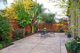 small patio landscaping