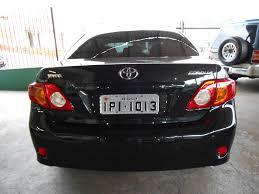 beto automóveis toyota corolla xei 1 8 automático 2009 vendido