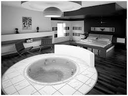Black And White Interior Design Bedroom Black White And Bedroom Themes Cool Black And White Bedroom