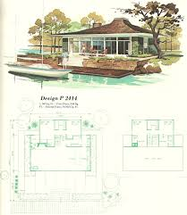 Vacation Cottage Plans Vintage House Plans Vacation Homes 1960s Teeny Tiny House Love