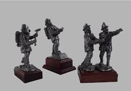 firefighter figurines classique sculptures collectibles statues figurines and miniatures