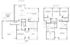 one home floor plans 3 bedroom bungalow house floor plans designs single