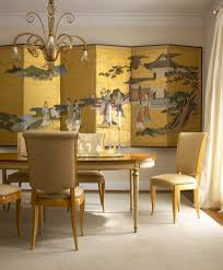 asian table decoration ideas dining room asian with asian mural
