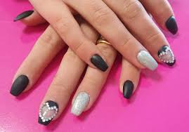 59 voguish black nail art ideas to have your nails make a statement