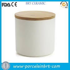 are you looking for ceramic canister with bamboo lid brt ceramic