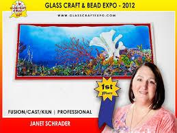Seeking Fused Cast Janet Schrader Delphi Glass