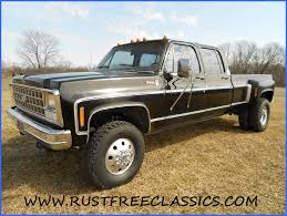 Classic Chevy Trucks 80s - 1980 80 chevrolet chevy crew cab dually k30 1 one ton 4x4 four