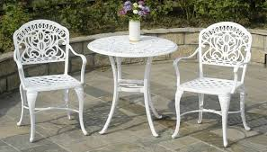Cast Iron Bistro Chairs Hanamint Cast Aluminum Furniture Patiosusa Com
