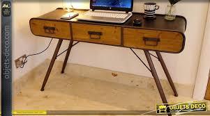 grand bureau en bois bureau metal bois minecrafted org