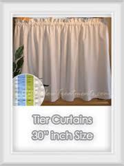 30 Curtains Cafe U0026 Tier Curtains Bestwindowtreatments Com