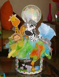 Safari Baby Shower Centerpiece by Centro De Mesa Safari Arca Animal Print Zafari Pinterest