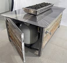 impact fire table stainless steel outdoor gas fire pits made in