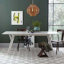 west elm expandable table charming design mid century expandable dining table stylist ideas