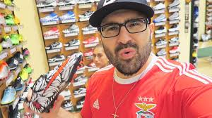 shopping for new football boots
