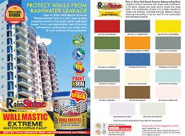 rain or shine wall mastic evergreen 4liters u2013 timeclockshopping com