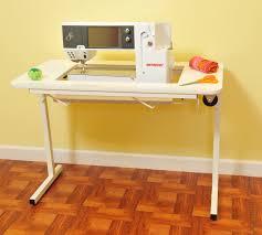 fold away sewing machine table arrow 98611 gidget ii folding sewing machine and craft table 198 00