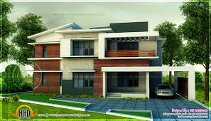 5 bedroom modern home in 3440 sq feet floor plan included