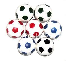 10 x bouncy footballs boys party bag fillers amazon co uk toys