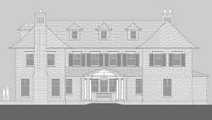 Shingle Style Home Plans Meadowmere Lane Shingle Style Home Plans By David Neff Architect