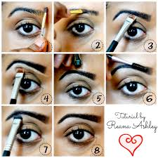 How To Color In Eyebrows How To Fill In Your Brows Using U0027too Faced Brow Envy U0027 Reana Ashley