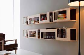 Wall Mounted Bookshelves Wood by Wall Mounted Bookcase Modular Contemporary Wooden Cyber By