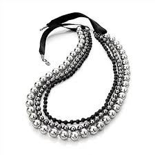 silver cord necklace images Cheap beaded cord necklace find beaded cord necklace deals on jpeg