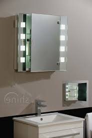 bathroom cabinets led battery operated bathroom mirrors